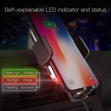 <b>LEEHUR</b> Smart Wireless Car Charger Holder Hot sale in car <b>Mobile</b> ...