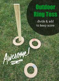 outdoor ring toss game division addition