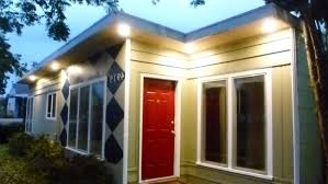 under eave lighting. Best Soffit Lights Recessed Lighting On Outside Of House Under Eave Outdoor Ideas D