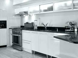 Modern black kitchen cabinets White Counter Black Dark Kitchen Cabinets With White Quartz Countertops Black And Pictures Of Kitchens Traditional Modern Super Wonderful Photo Beau The Spruce Dark Kitchen Cabinets With White Quartz Countertops Black And