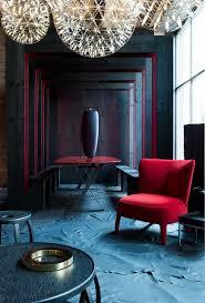 red and black furniture. lukas machnik pavilion for maxalto red and black furniture