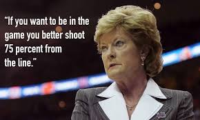 Pat Summitt Quotes Inspirational Words By UT Head Coach Heavy Unique Pat Summitt Quotes