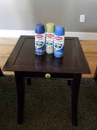 painting furniture with spray paint. I Painting Furniture With Spray Paint A