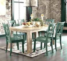 furniture farmhouse table farm round dinette dining room sets ashley tabl