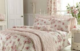 single bedroom medium size single bedroom shabby chic pink annabella duvet cover set dunelm colorful