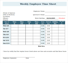 timecard with lunch breaks employee timesheet template with lunch break starengineering