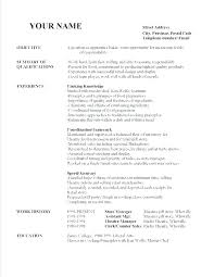 Another Word For Cleaner On Resume Cleaner Resume Template Cleaner Sample Resume Sample Resume For G