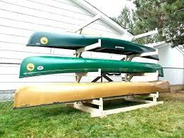 kayak hangers storage freestanding kayak rack free standing kayak storage rack plans photo 5 of 5 kayak hangers storage