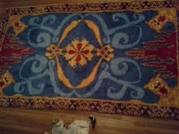 aladdin s magic carpet 4 5 x 8 latch hook area rug