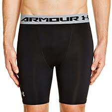 under armour compression shorts. under armour men\u0027s heatgear compression shorts - black,
