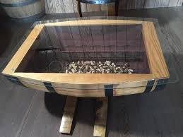 wine barrell furniture. Wine Barrel Table With Rack Barrell Furniture R