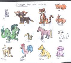 The chinese zodiac is made up of 12 animals, which change each year on a rotating cycle. Chinese New Year Animals By Sweetlilangel On Deviantart