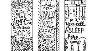 Segnalibri Da Stampare E Colorare Creare Con La Carta