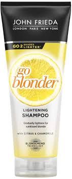 <b>John Frieda Sheer Blonde</b> Go Blonder Lightening Shampoo for ...