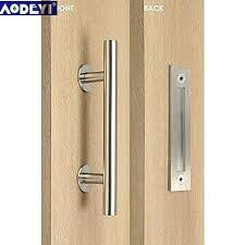 sliding door pull handles rustic barn