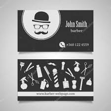Barber Business Cards Design Business Cards For Barbers Hair Salon Barber Shop Business