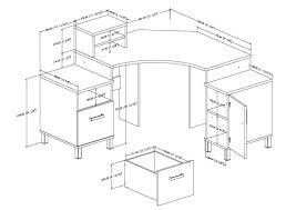 standard office desk height uk mlf