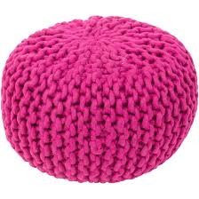 Knitted Pouf Pattern Simple Inspiration Design