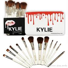 kylie makeup brushes professional brush kits brands foundation make up beauty tools cosmetic brush sets in rel iron box kylie makeup brushes makeup