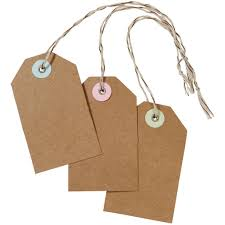 Amazon.com: Martha Stewart Crafts Kraft Tags