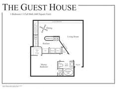 Guest house plans  Guest houses and House plans on PinterestBack Yard Guest House Plans   Small Guest House Plans