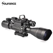 Bsa Red Dot Laser Light Combo Us 39 0 11 Off 4 12x50eg Rifle Scope Hd107 Micro Holographic Dual Illuminated Dot Sight Red Green Laser Combo For Rifle Airsoft Gun Sight Acc In