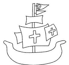Nave Dei Pirati Da Colorare Disegni Da Colorare E Stampare Gratis