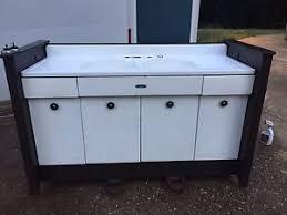vintage cast iron double farm kitchen sink make offer ebay