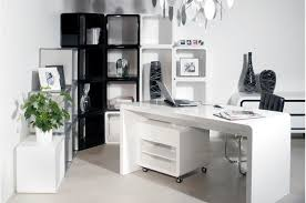 white home office desks. Sleek White Office Furniture Home Desks O