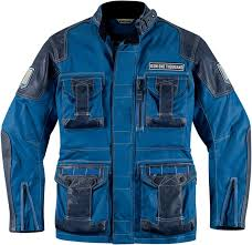 icon 1000 beltway jacket jackets textile blue best icon leather jackets icon clothing website famous brand