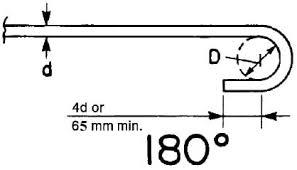 Aci Rebar Bend Chart Reinforced Concrete Beam Detailing According To Aci Code