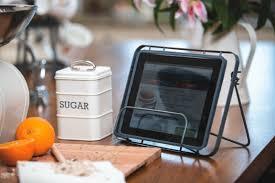 ... Ipad Holder For Kitchen Ipad Holder For Kitchen Cabinet Freestanding  Steel Tablet Holder On ...