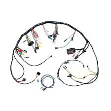 mustang under dash wiring harness without tachometer 1967 1966 mustang under dash wiring harness at Under Dash Wiring Harness