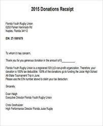 donation reciept letter non profit donation receipt example rome fontanacountryinn com