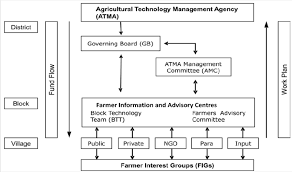 Amc Organizational Chart Organizational Structure Of The Agricultural Technology