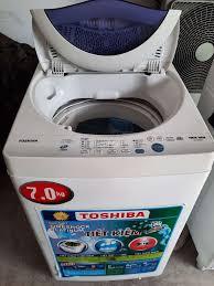 Máy giặt Toshiba 7kg giặt sấy tốt giá rẻ - 85641008