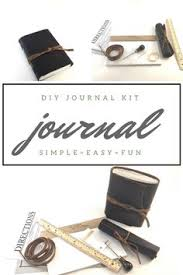 diy kit personalized leather journal kit diy bujo bullet journal starter kit junk journal kit diy graduation gift diy birthday gift journal