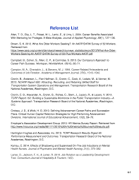 Reference List Guidebook On Building Airport Workforce Capacity