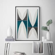 abstract geometric wall art print large wall art fine art prints living room