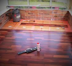 nice engineered wood flooring underfloor heating on floor within 16