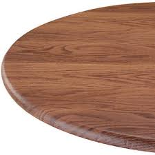wood grain oak round elasticized tablecloth table cover vinyl fitted cover 40 44