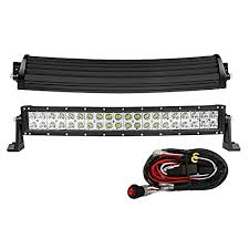 mictuning curved 22″ 120w 3b139c cree led work light bar combo mictuning curved 22 120w 3b139c cree led work