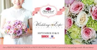 wedding expo philippines 2016 dangwa flowers by clint carl Wedding Expo Images bridal fair wedding expo 2016 wedding expo images