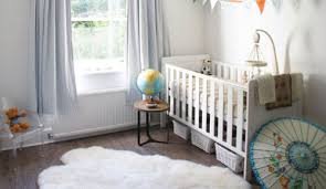 sheep skin nursery rug