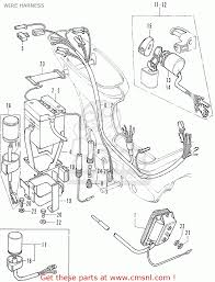 Honda qr50 wiring diagram bmw 335i radio wiring honda cf50 chally general export wire harness