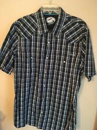 Mens Kirra Short Sleeve Button Shirt Size Xl Fashion