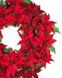 ... Outdoor LED Poinsettia Wreath Alt ...
