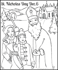 Small Picture FREE Printable St Nicholas Day Sleightholm Folk Art