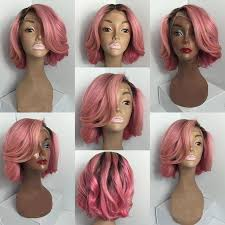 Ombre Weave Color Chart Rose Gold Ombre Short Curly Hair Hair Coloring