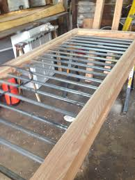 railings made from 3 4 electrical conduit wood deck
